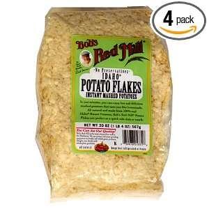 how to use potato flakes