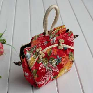 WHOLESALE 10PCS CHINESE SILK CLOTHES STYLE HANDBAGS