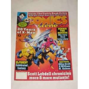 Comics Scene Magazine July #35 1993 30 Years of X Men Dennis