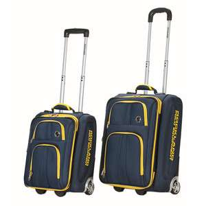 Rockland Polo Equipment 2 Piece Lightweight Expandable Luggage Set