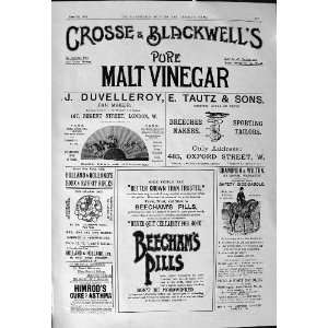 Crosse Blackwell Beechams Pills Maples Furnishing