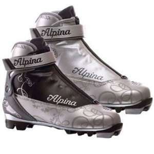 Alpina Eve 30T Cross Country Ski Boot (Silver/Silver