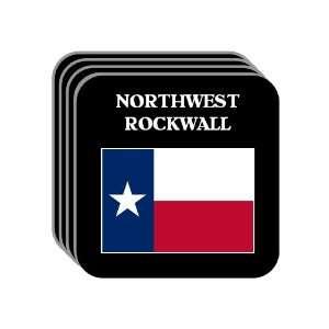 US State Flag   NORTHWEST ROCKWALL, Texas (TX) Set of 4 Mini Mousepad