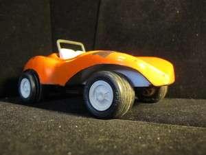 Vintage Orange steel 1960s Tonka Dune Buggy 7x3
