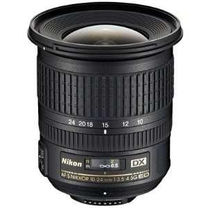 Nikon 10 24mm f/3.5 4.5G ED AF S DX Zoom   Nikkor Lens