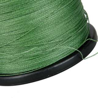 New High Quality 100% Dyneema Braided Fishing Line Spool 1000M/0.37MM
