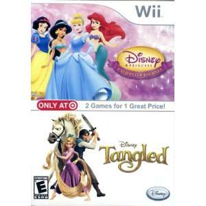 Disney Princess Enchanted Journey / Tangled for Wii Video Games