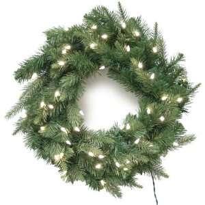 Good Tidings 96380 Wreath LED Bedford Fir PE 45 Warm White