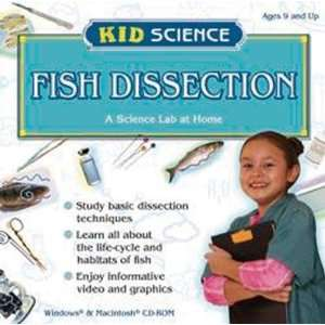 Kid Science Fish Dissection CD ROM Teachers Discovery