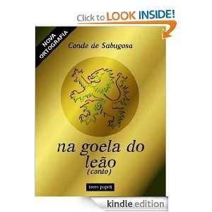 Na goela do leão (Portuguese Edition): Conde de Sabugosa: