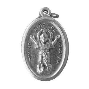 Divino Nino/Yo Reinare Medal 20 Steel Chain: Jewelry
