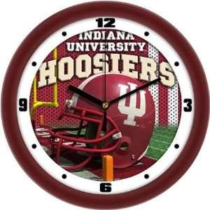 Indiana Hoosiers IU NCAA Football Helmet Wall Clock