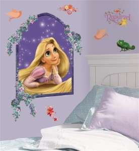 Disney Tangled Rapunzel Giant Wall Decals Stickers