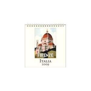 Italia 2009 Easel Desk Calendar Office Products