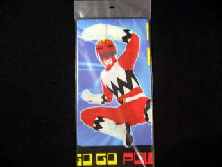 Power Rangers Birthday Party Supplies Plates Candle Table Cover Banner