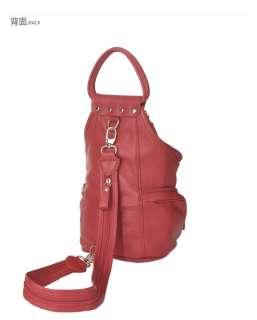 womens Genuine Leather backpack style bag  fashion news A401