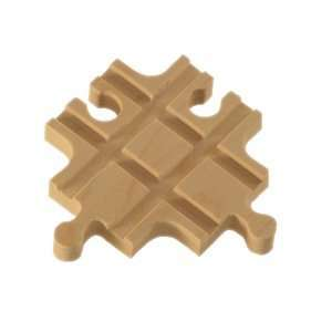 Wooden Train Track Cross Adapter Fits Thomas Train Track: Toys & Games