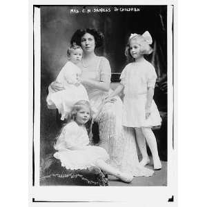 Mrs. C.M. Daniels,children