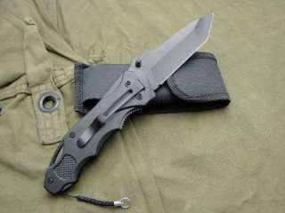 GERBER STURGIS MOTORCYCLE RALLY HARLEY TACTICAL KNIFE & SHEATH GBQM554