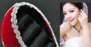 Shoe Ring Red Jewelry Display Organiz Holder Stand Rack