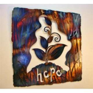 Hope Metal Wall Art Wrought Iron Abstract