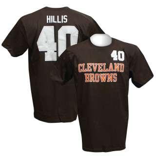 CLEVELAND BROWNS Peyton Hillis Jersey T Shirt XL