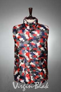 vb HOMME Reversible Puffer Vest BLACK, GRAY 4CH