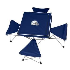 Indianapolis Colts NFL Intergrated Table with Stools Sports