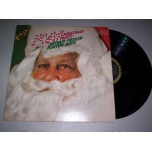 Pops Christmas Party Arthur Fiedler, Boston Pops Orchestra Music