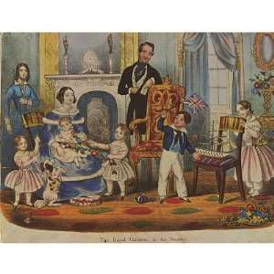 in their game room. Queen Victoria with Prince Albert an: Toys & Games