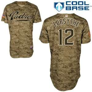 Logan Forsythe San Diego Padres Authentic Camouflage Cool Base Jersey