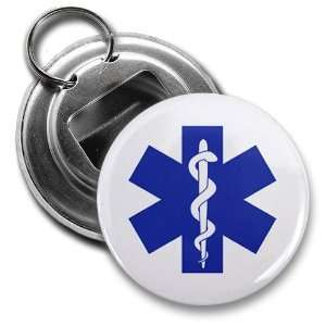Blue EMT EMERGENCY MEDICAL TECHNICIAN Symbol Fire Rescue Heroes 2.25