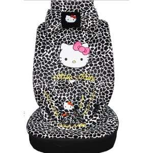 Leopard Rearview Front Rear Seat Saddle Cover EMS Shipping ZJ000164