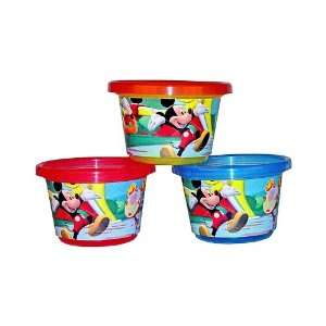 Disney Mickey Mouse Take & Toss Toddler Bowls (3 pack) Baby