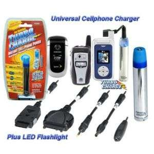 TURBO CHARGE INSTANT EMERGENCY CELL PHONE POWER   TC300