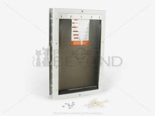 PETSAFE PLASTIC LARGE PET/DOG DOGGIE DOOR PPA00 10960