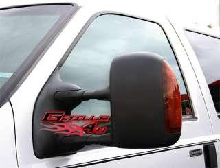 03 07 Ford F 250 Signal Power Tow Mirror Set Pair