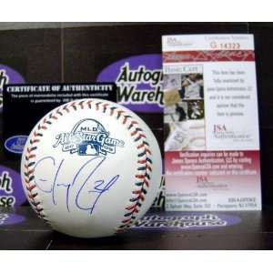 Signed Hanley Ramirez Baseball   2009 All Star Game JSA