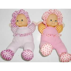 Cuddly 14 Soft Vinyl and Stuffed Body Rag Doll  2 Asst Toys & Games