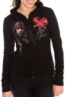 Pirates Of The Caribbean Love Jack Zip Hoodie