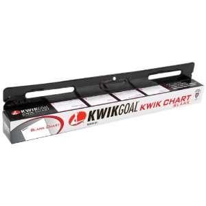 Kwik Goal Kwik Blank Chart (20 Sheets Per Roll): Sports