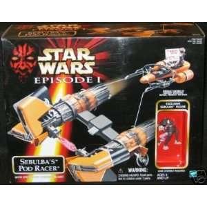 Star Wars Episode 1 Sebulbas Pod Racer Sebulba Toys & Games