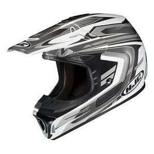 HJC SPXN TEAM MC 5 WHITE/SILVER/BLACK MOTORCYCLE Off Road