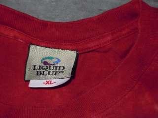 PHILADELPHA PHILLIES MLB BASEBALL LIQUID BLUE CASUAL T SHIRT TYEDYE