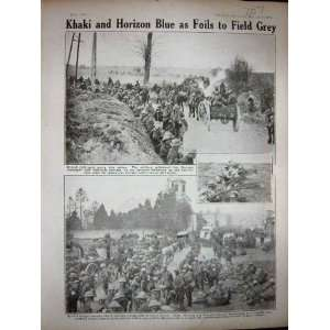 1918 WW1 British Field Guns Soldiers French Infantry: Home