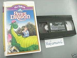 Petes Dragon VHS Walt Disney Helen Reddy Mickey Rooney 012257010039
