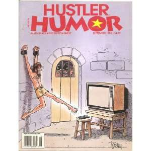 HUSTLER HUMOR SEPTEMBER 1995 9/95: HUSTLER MAGAZINE: Books