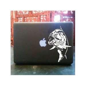 Piranha eating apple macbook skin vinyl decal Everything