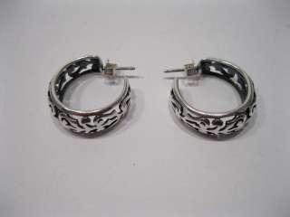 James Avery Sterling Silver Adoree Hoop Earrings