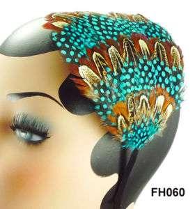 Feather Headband Hair Band Clip Double Use